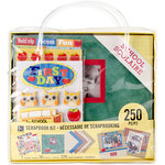 K and Company - 8 x 8 Scrapbook Kit - School