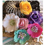 Marion Smith Designs - Junque Gypsy Collection - Paper Flowers - Rhapsody