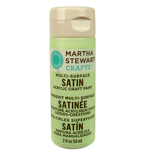 Martha Stewart Crafts - Paint - Satin Finish - Artichoke - 2 Ounces