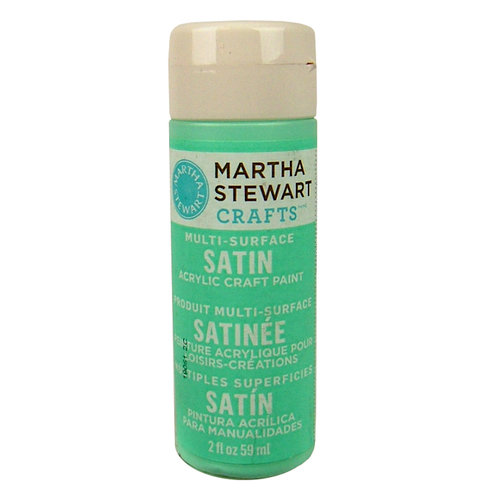 Martha Stewart Crafts - Paint - Satin Finish - Beach Glass - 2 Ounces