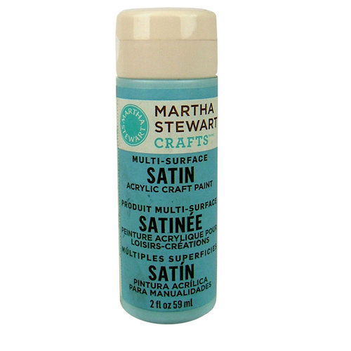 Martha Stewart Crafts - Paint - Satin Finish - Blue Sky - 2 Ounces