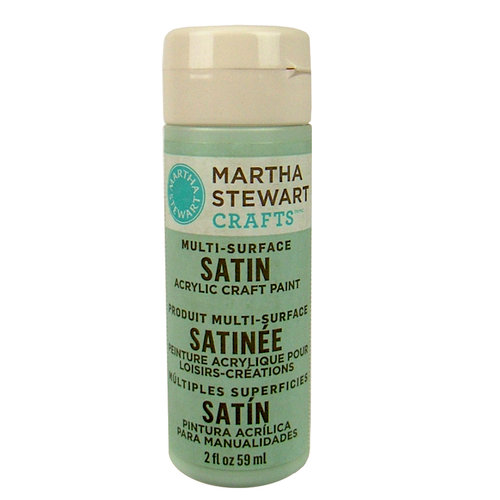 Martha Stewart Crafts - Paint - Satin Finish - Cloud - 2 Ounces