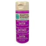 Martha Stewart Crafts - Paint - Satin Finish - Mardi Gras Beads - 2 Ounces