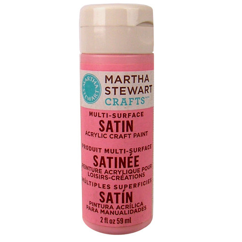 Martha Stewart Crafts - Paint - Satin Finish - Peppermint Bark - 2 Ounces