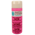 Martha Stewart Crafts - Paint - Satin Finish - Bubblegum - 2 Ounces