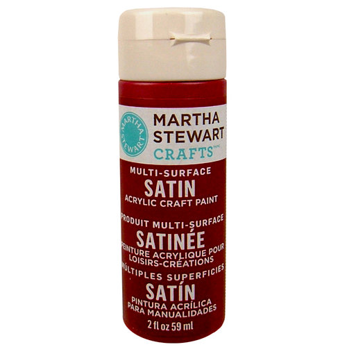 Martha Stewart Crafts - Paint - Satin Finish - Chipotle - 2 Ounces