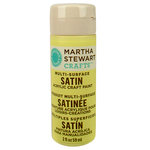 Martha Stewart Crafts - Paint - Satin Finish - Couscous - 2 Ounces