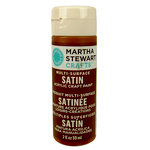 Martha Stewart Crafts - Paint - Satin Finish - Chestnut Brown - 2 Ounces