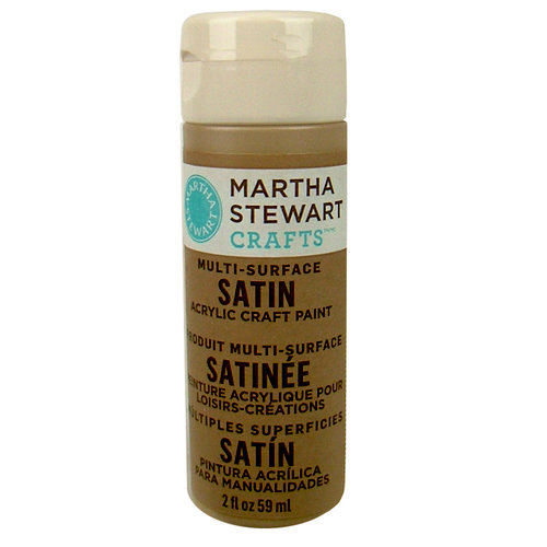 Martha Stewart Crafts - Paint - Satin Finish - Root Beer Float - 2 Ounces