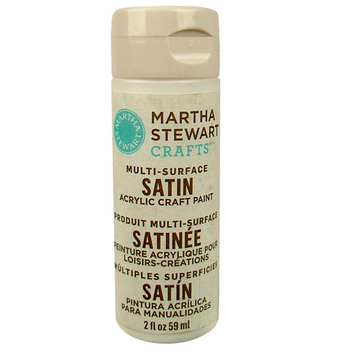 Martha Stewart Crafts - Paint - Satin Finish - Wedding Cake - 2 Ounces