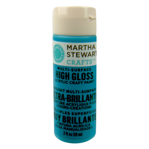 Martha Stewart Crafts - Paint - High Gloss Finish - Pond - 2 Ounces