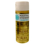 Martha Stewart Crafts - Paint - Metallic Finish - Yellow Gold - 2 Ounces