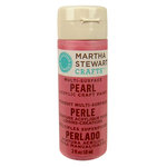Martha Stewart Crafts - Paint - Pearl Finish - Pink Taffeta - 2 Ounces