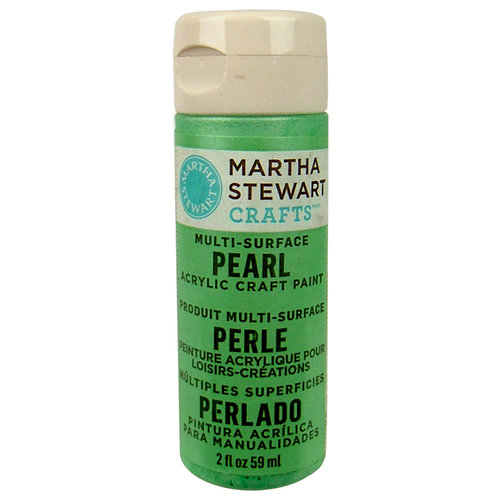 Martha Stewart Crafts - Paint - Pearl Finish - Mint Chip - 2 Ounces