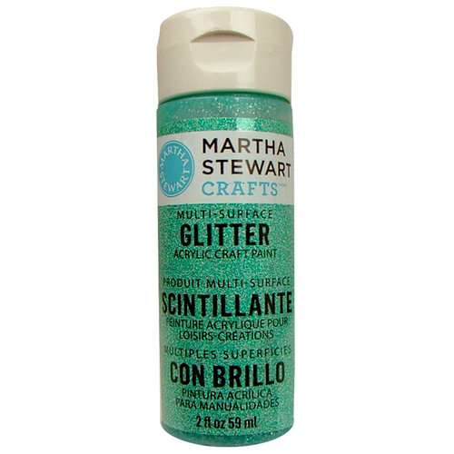 Martha Stewart Crafts - Paint - Glitter Finish - Feldspar - 2 Ounces
