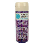 Martha Stewart Crafts - Paint - Glitter Finish - Purple Sapphire - 2 Ounces