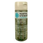 Martha Stewart Crafts - Paint - Glitter Finish - Antique Silver - 2 Ounces