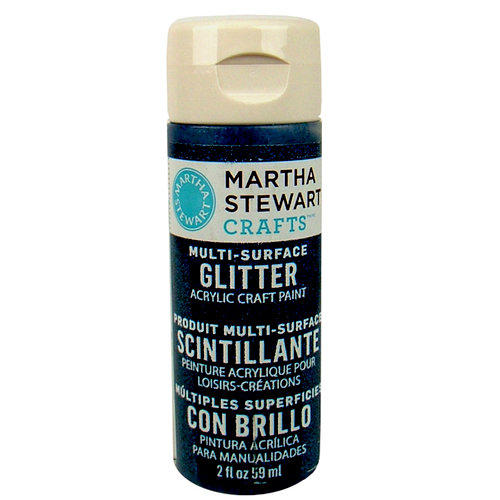 Martha Stewart Crafts - Paint - Glitter Finish - Night Sky - 2 Ounces