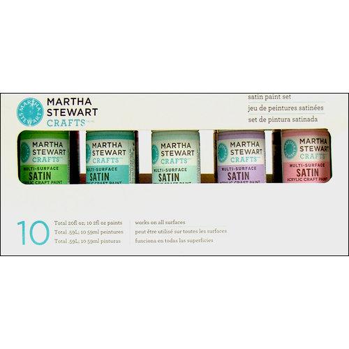 Martha Stewart Crafts - Paint Set - Satin