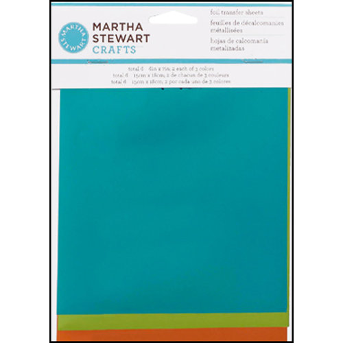 Martha Stewart Crafts - Foil Transfer Sheets - Mediterranean