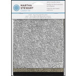 Martha Stewart Crafts - Glitter Transfer Sheets - Mineral
