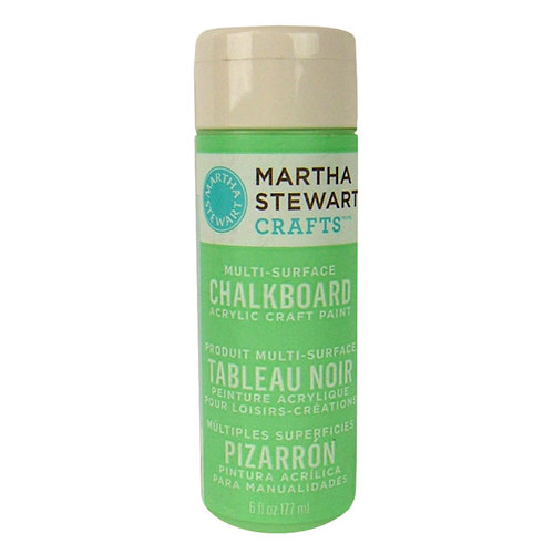 Martha Stewart Crafts - Paint - Chalkboard Finish - Green - 6 Ounces