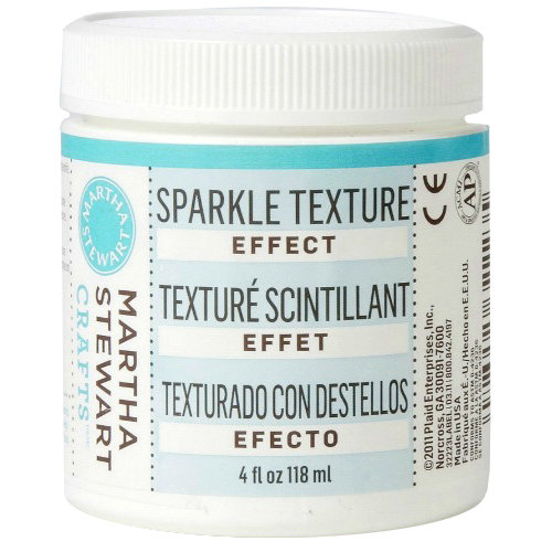 Martha Stewart Crafts - Texture Effect - Sparkle - 4 Ounces
