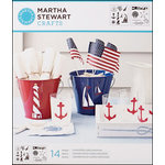Martha Stewart Crafts - Stencil - Medium - Nautical Study
