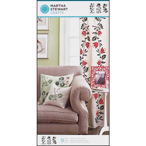 Martha Stewart Crafts - Stencil - Large - Foxglove