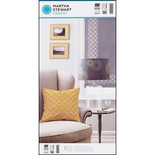 Martha Stewart Crafts - Stencil - Large - Arabesque Lace