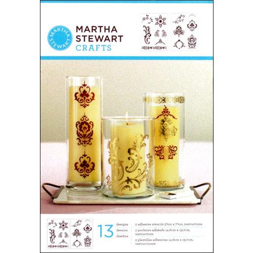Martha Stewart Crafts - Adhesive Stencil - Scrolls