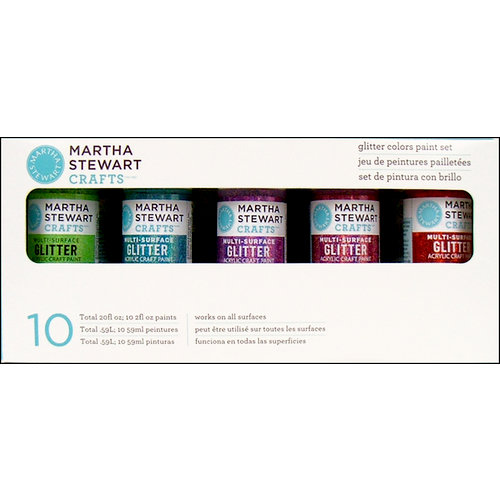 Martha Stewart Crafts - Paint Set - Glitter