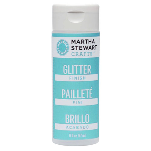 Martha Stewart Crafts - Paint Finish - Glitter - 6 Ounces