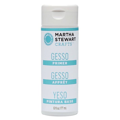 Martha Stewart Crafts - Primer - Gesso - 6 Ounces