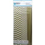 Martha Stewart Crafts - Tissue Paper - Chevron Gold