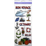 Multi Craft - Clear Stickers - Bon Voyage