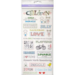 Multi Craft - Clear Stickers - Children