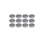 The Magnet Source - Neodymium Magnet Adhesive Disc - 3/8 Inch - 12 Piece