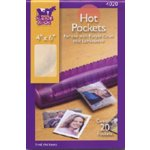 Purple Cows Incorporated - Hot Pockets - 4x6 - Laminator Refill Pockets