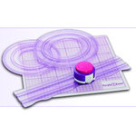 Purple Cow Incorporated - Freestyle Cutter System - 3 Patterns, CLEARANCE