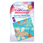 Purple Cows Incorporated - Craft Geek - Pin It - Pins - Spring Butterflies