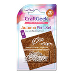 Purple Cows Incorporated - Craft Geek - Pin It - Pins - Autumn Leaves
