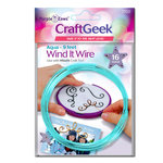 Purple Cows Incorporated - Craft Geek - Wind It - Wire - Aqua