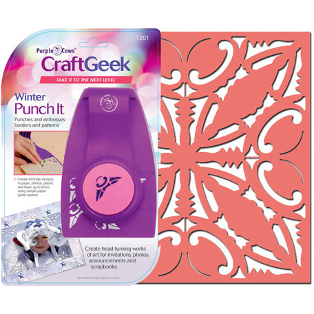 Purple Cows Incorporated - Craft Geek - Punch It - Winter