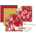 The Paper Element - Tinsel Town Christmas Card Making Kit, CLEARANCE