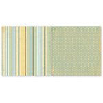 The Paper Loft - Easy Breezy Collection - 12 x 12 Double Sided Paper - Just Ducky
