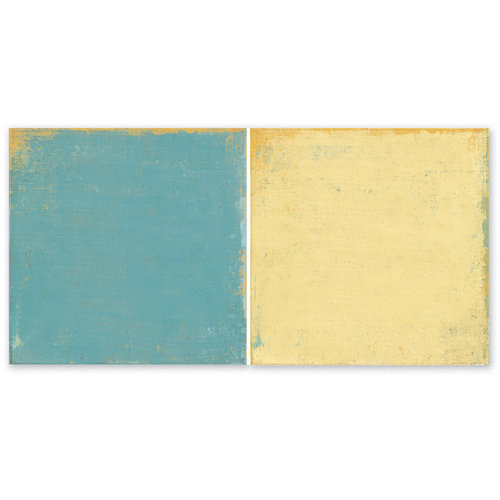 The Paper Loft - Easy Breezy Collection - 12 x 12 Double Sided Paper - Easy Peasy Lemon Squeezy