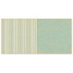 The Paper Loft - Easy Breezy Collection - 12 x 12 Double Sided Paper - Mellow Yellow
