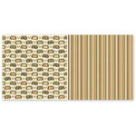 The Paper Loft - Gone Camping Collection - 12 x 12 Double Sided Paper - Set Up Camp