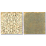Paper Loft - Grandmas House Collection - 12x12 Doublesided Paper - Tatting, CLEARANCE